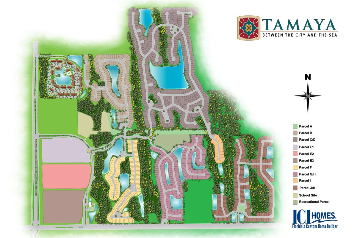 Tamaya is an upscale Mediterranean style community between downtown and the beaches.