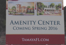 Architect and Interior Designer Selected for Amenity Center at Tamaya - Tamaya Amenity Center sign blog feature e1423513485551