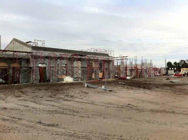 Rear view of Tamaya's Residents Club