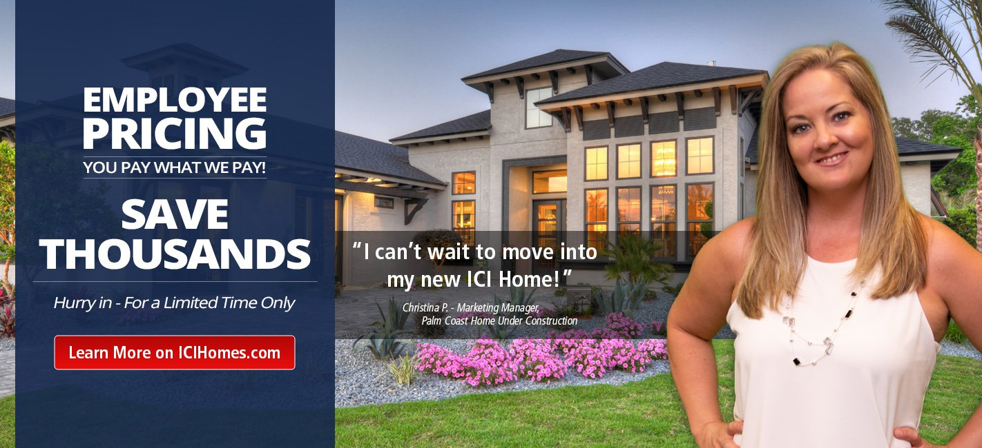 ICI Home Employee Pricing