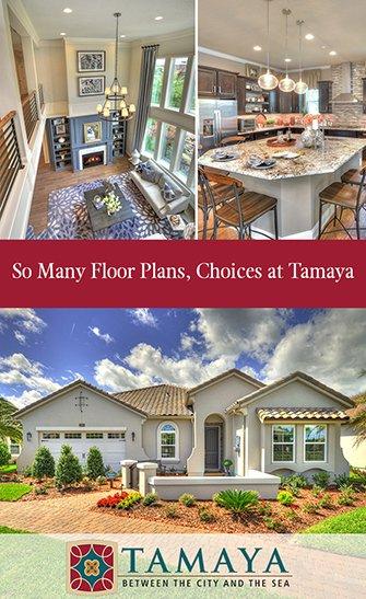 So Many Floor Plans, Choices at Tamaya