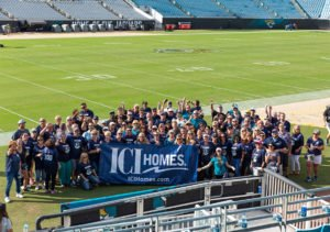 ICI Homes at Jacksonville Jaguars Game
