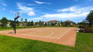 Tamaya's Amenities - Basketball Court